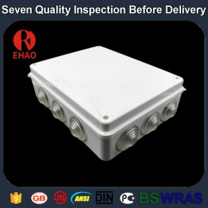 Plastic Electronic waterproof Plastic junction box large size