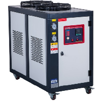 air cooled cased industrial chiller