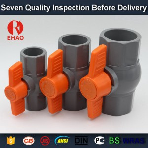 """1"""" (32)  770  PVC octagonal compact ball valve solvent ends"""