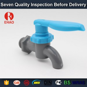 "1/2"" EHAO plastic original material health for water supply with high quality faucet nipple"