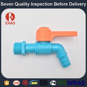 "3/4"" Upvc long tap for garden and bibcock for water supply with high quality"