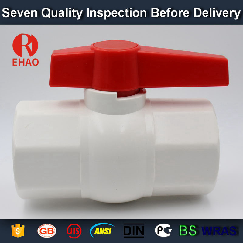 "1-1/4"" (40) 770 PVC octagonal compact ball valve solvent ends supplier"