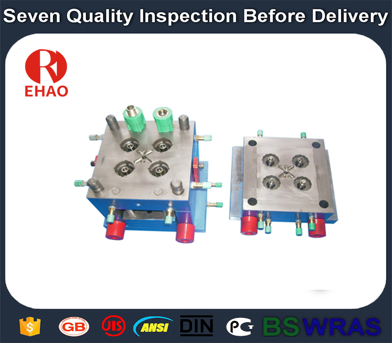 Popular Design for injection plastic mould, pipe fittings