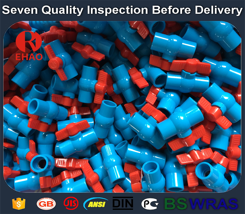"""Good Wholesale Vendors  3"""" PVC round compact ball valve thread ends buyer  Factory in Mali"""