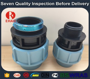 Modern top sell pp pipe fittings/female threaded coupling 20 x 1/2""