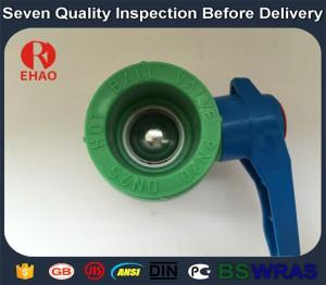 110mm Quality antique fip plastic ppr ball valve welding
