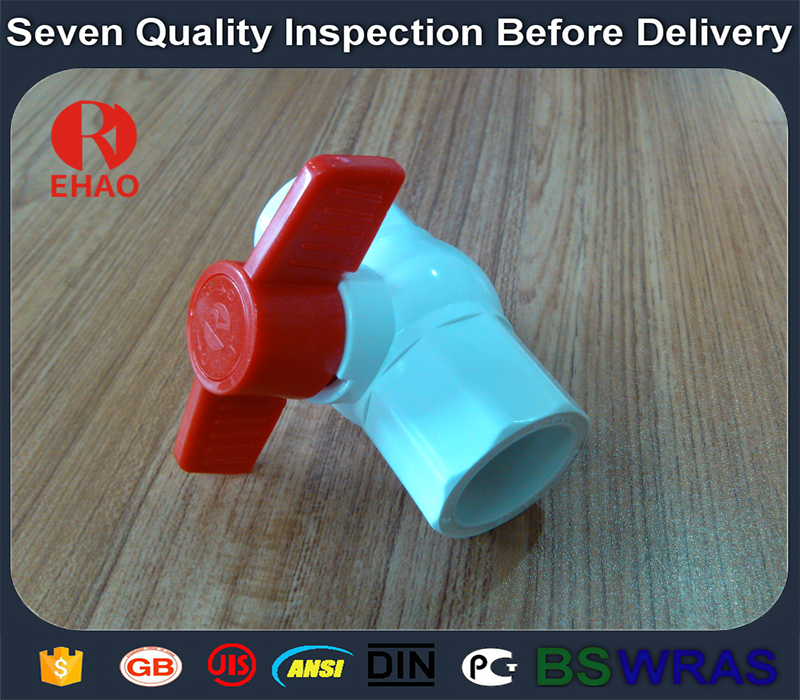 """Europe style for 2-1/2"""" (75)  octagonal compact pvc ball valve glue end for sale Wholesale to Mauritania"""